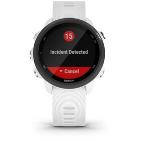 Garmin Forerunner 245 Music GPS Smartwatch, blanco/negro